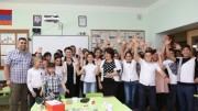 "Ucom Supports the Opening of ""Armath"" Engineering Club-Laboratories also in Shirak and Aragatsotn Regions of Armenia"