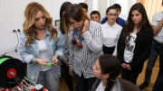 "Armenia's Ambassador to Eurovision 2017 Visited ""Armath"" Engineering Laboratory in Ashtarak"