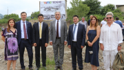 "Serzh Sargsyan Participated in the Foundation Stone Laying Ceremony of Tumo Koghb Center and Paid a Visit to ""Armath"" Engineering Laboratory in Koghb Village"