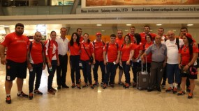 The First Group of Sportsmen Left for Rio de Janeiro
