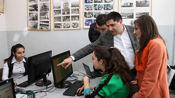 """It is important for ""Armath"" engineering laboratories' students to bring to life everything they tell us about"", Hayk Yesayan"