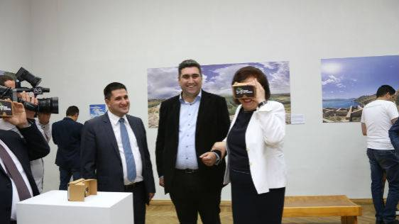 "National Gallery of Armenia Launches Ucom's ""360° Greater Armenia"" Project Exhibition"