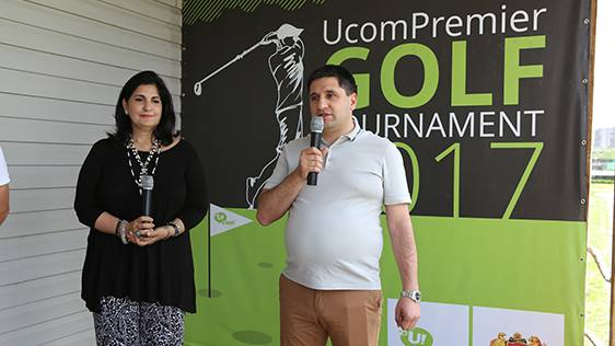 "UcomPremier Subscriber Announced as a Winner of Golf Tournament Will Watch ""Open de France"" in France"