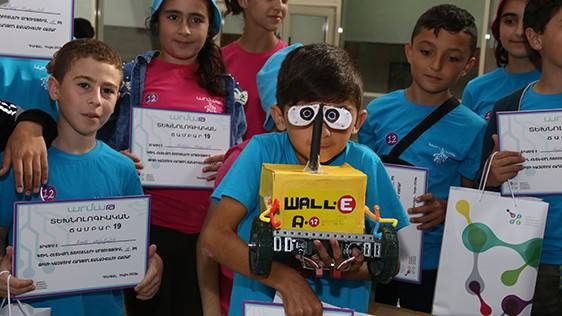 "RESULTS OF THE FIRST FLOW OF ""ARMATH"" SUMMER TECHNOCAMP SUMMED UP IN DILIJAN"