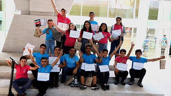 "OVER 400 SCHOOLCHILDREN PARTICIPATED IN ""ARMATH"" TECHNOCAMP HELD WITH THE SUPPORT OF UCOM"