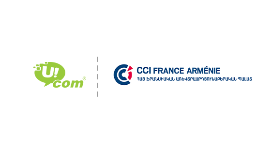 "Ucom is a Full Member of the ""France Armenia Chamber of Commerce and Industry"" Foundation"