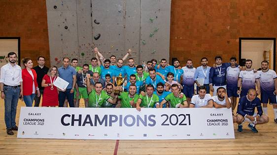 Победителем турнира по футзалу группы компаний «Галакси» стала команда  «Ucom-1»: состоялась церемония награждения